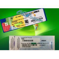 Buy cheap Home Premium Windows 7 Pro Coa Sticker Oem Key / Windows 7 License Sticker product