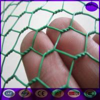 Buy cheap Green Carbon Steel Chicken Wire Mesh Fencing Electric Poultrynetting from China from wholesalers