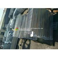 Buy cheap Welded Serrated Steel Bar Grating , Various Size Galvanized steel Grating product