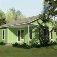 Buy cheap Ready Designed Low Cost Light Steel Frame Customized Prefab House Living Home from wholesalers
