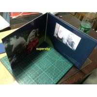 Buy cheap 7 Inch A4 A5 Size LCD Video Book  / Lcd Invitation Card With 4G Memory from wholesalers