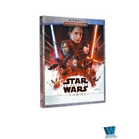 Buy cheap 2018 Blue ray MOVIES Star Wars The Last Jedi 2BD Adult movies cartoon dvd Movies disney movie HOT SALE from wholesalers