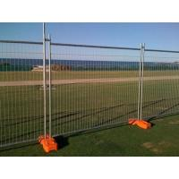 Buy cheap Portable Temporary Metal Mesh Fence Panels Petrol Station / Railway Station Application from wholesalers