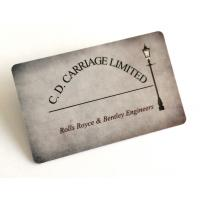 Buy cheap Golssy Finish Smooth PVC Business Cards With Flat Serial Number Waterproof from wholesalers