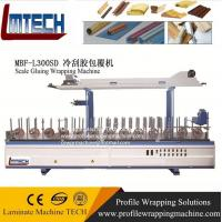 Buy cheap WPC solid door frame extrusion laminating wrapping machine line from wholesalers
