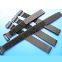 Buy cheap velcro strap cable tie with plastic buckle from wholesalers