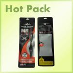 Buy cheap Hanging Transparent sealable custom printed foil bags , foil ziplock bags from wholesalers