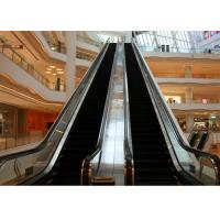 Stainless Steel Escalators : Outside escalator hairline finished stainless steel cover