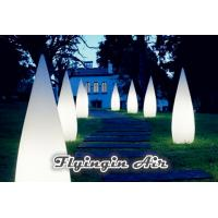 Buy cheap Decorative Stage Light Inflatable Cone for Party and Yard Decoration product