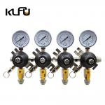 Buy cheap 80PSI 120PSI Corrosion Resistance No Leaks 2 Stage CO2 Regulator For Beer / Soda from wholesalers