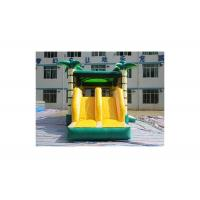 Buy cheap Hawaii Monkey Inflatable Coconut Tree Jungle Bouncer With Slide 3 Years Warranty from wholesalers