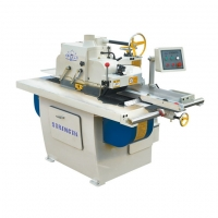 Buy cheap Straight Line Cutting Single Circular Rip Saw Machine from wholesalers