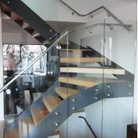 Buy cheap stainless steel standoff bracket for glass outdoor metal stair railing for home stair design from wholesalers