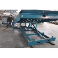 6000Kg Stationary Container Loading Dock Ramp , adjustable hydraulic dock levelers