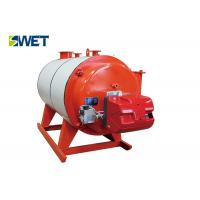 Water Pipe Type Hot Water Boiler Large Furnace Volume High Thermal Resistance