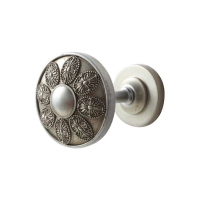 Buy cheap Metal Wall Mounted Round Curtain Hook for Home Decoration from wholesalers