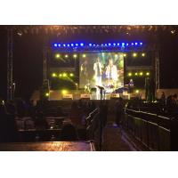 Buy cheap 1/16 Scan Stage Background Led Screen For Indoor Event Music Show from wholesalers