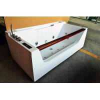 Buy cheap One Person Hydrotherapy Mini Indoor Hot Tub Square With Bluetooth Upgrade from wholesalers