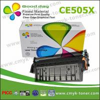 black Compatible Toner cartridge CE505X For HP LaserJet P2035  with chip