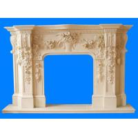 Buy cheap Hand Carved Marble Fireplace Mantel from wholesalers
