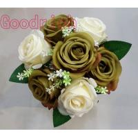 Buy cheap wholesale wedding bouquets silk flower from wholesalers