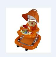 Buy cheap baby walkers orange from wholesalers