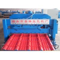 Buy cheap Automatic Corrugated Roof  Glazed Tiles Roll Forming Machine With 16 Rollers from wholesalers