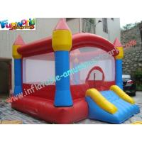 Buy cheap Outdoor PVC Commercial Bouncy Castles With Slide , Inflatable Bouncer from wholesalers