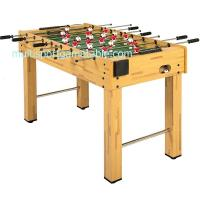 4FT Soccer Game Table Wood Football Table MDF Table Soccer Steel Play Rods