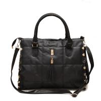 Buy cheap Ladies Casual Quilted Black Shoulder Bags For Party , Girl Shoulder Bags from wholesalers