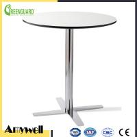 Buy cheap Amywell high density waterproof durable Phenolic HPL outdoor round garden table product