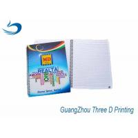 Buy cheap Big Size A4 3D Lenticular Notebook Custom Printing 80g Inner Pages from wholesalers