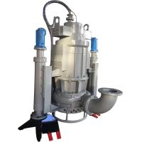 Buy cheap submersible vertical sand dredging pump with electric motor driven control box from wholesalers