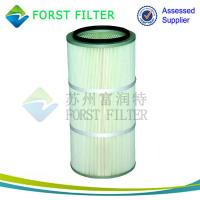 Buy cheap FORST Manufacturer Air Filter Pleated Air Filter Cartridge for Dust Collection from wholesalers