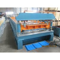 45# Steel Rib Panel Roll Forming Machine 20m / min Anti - Rust Roller