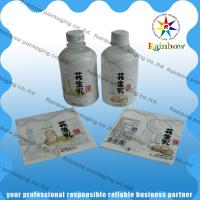 Buy cheap PVC / PET Shrink Sleeve Labels Customized Printing For Drink Bottle from wholesalers