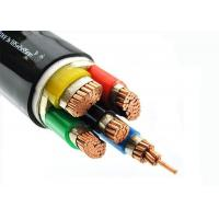 Buy cheap Cu - Conductor 5 Core Heat Resistant Cable , LSZH Power Cables Unarmoured from wholesalers
