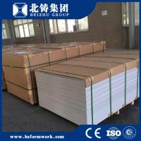 Buy cheap waterproof plastic formwork reuse 60 times good quality China supply pvc 4*8 feet from wholesalers