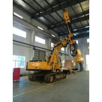 Buy cheap Bored Pile Driver Hire , Driven Piles Construction Hydraulic Rig Machine 6.1T Total Weight from wholesalers