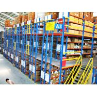 Buy cheap Multi - Layer Powder Coating Rack Supported Mezzanine Floor With Walkways from wholesalers