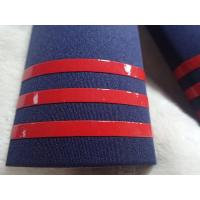 Buy cheap Shine And Soft Silicone Rubber Labels Printed On Military Clothing Shoulders from wholesalers