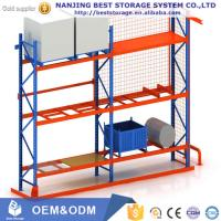Buy cheap High quality Heavy duty pallet racking Steel Q235 blue orange color from wholesalers