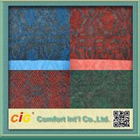 Buy cheap Custom 100% Polyester Jaquard Outdoor Carpet Fabric Anti-fire and Anti Slip from wholesalers