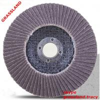 Buy cheap 4.5'' 115X22MM abrasive disc sanding paper for paint remove with MPA EN 12413 from wholesalers