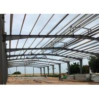 Buy cheap Large Span Steel Frame Prefabricated Steel Structure Building With Rigid Steel Frame from wholesalers