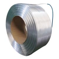 Buy cheap White Aluminum Tubing 3001 Bending 180 Degree By Radius No Visible Crack from wholesalers