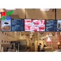 Buy cheap 42 Inch LCD Advertising Display Monitor WiFi Control For Shop Menu Image Display from wholesalers