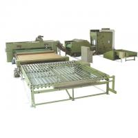 Buy cheap Polyester Wadding Production Line Quilt Auto Filling Line 110kw 3400mm from wholesalers
