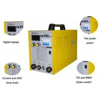 Buy cheap 0.93 PF Inverter TIG Welding Machine , Inverter ARC TIG Welder With CE 3C Certificated TIG250A from wholesalers