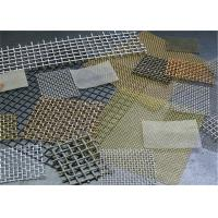 Buy cheap 1-120 Mesh Stainless Steel Crimped Wire Mesh / Cloth / Net For Smoking Pipe from wholesalers